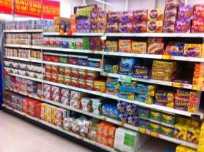Asda Colchester Cereal Snacks 261011
